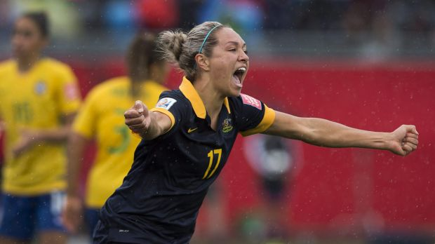TV deal: The Matildas' attempt to qualify for Rio will be shown on Channel Seven.