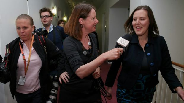 Liberal MP Kelly O'Dwyer at Parliament House on Thursday September 17.