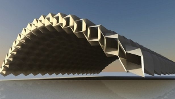 How origami inspired engineers to design pop-up bridges ... - photo#27