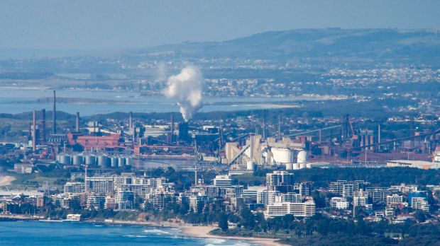 BlueScope Steel plant at Port Kembla is experiencing job losses.