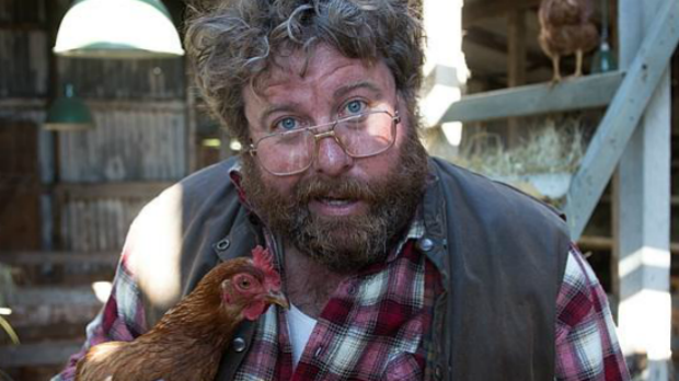 Family fave: Shane Jacobson in <i>Oddball</i>, which has now passed the $8 million mark.