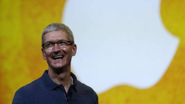 """The time for action is now:"" Apple chief Tim Cook. The move will make Apple's operations in China carbon-neutral, the ..."