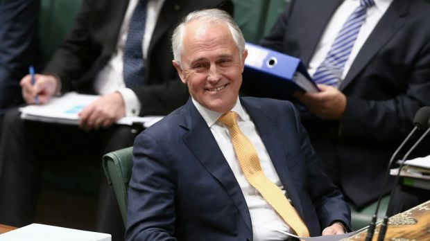 Malcolm Turnbull appears keen to send a message of creative optimism to leaders.