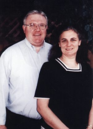 Bruce D Hales, the Sydney-based leader of the Exclusive Brethren, pictured with his wife, Jennifer.