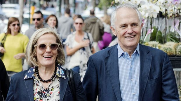 For Lucy Turnbull, wife of the Prime Minister, special rules will apply, just as they will for her husband.