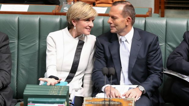 Julie Bishop says Tony Abbott is a victim of his own failure