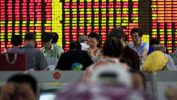 Trading was suspended on China's CSI300 index after it lost 7 per cent in value.