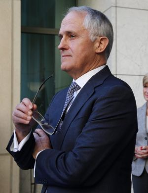 The rich dude who became prime minister, Malcolm Turnbull.