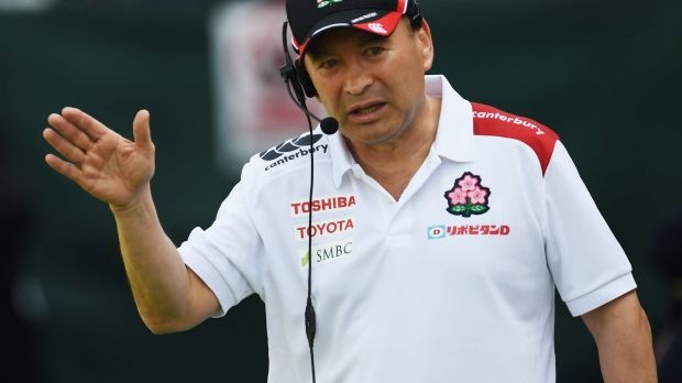 Poised: Eddie Jones is firming as the next England coach.