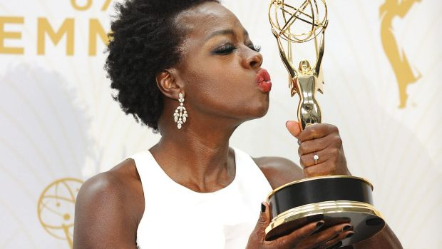 <i>How To Get Away With Murder</i> star Viola Davis became the first black woman to win an Emmy for Best Actress in a ...