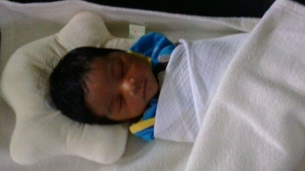 Nourkayas is the first child born to a refugee family in Nauru.