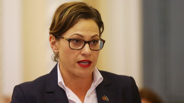 Deputy Queensland Premier Jackie Trad wants federal funding for the Labor government's planned Cross River Rail project.