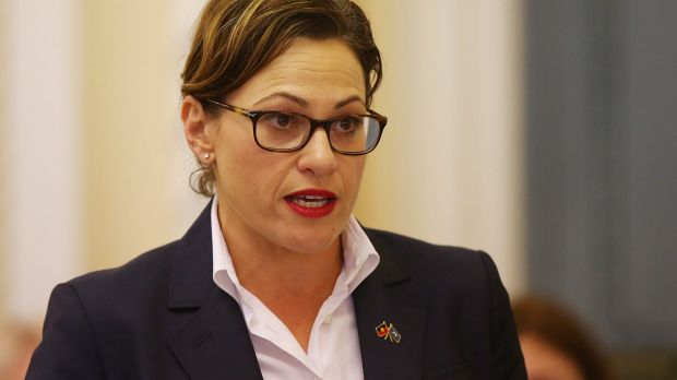 "Deputy Premier Jackie Trad says ""rumour"" and ""gossip"" are just parts of politics."
