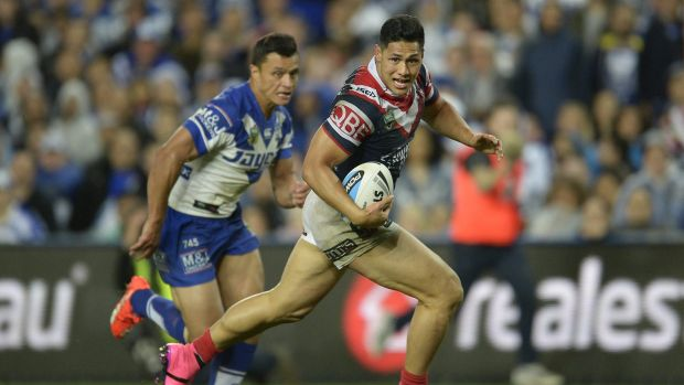 Former Roger Tuivasa-Sheck is boosting the Warriors ranks.