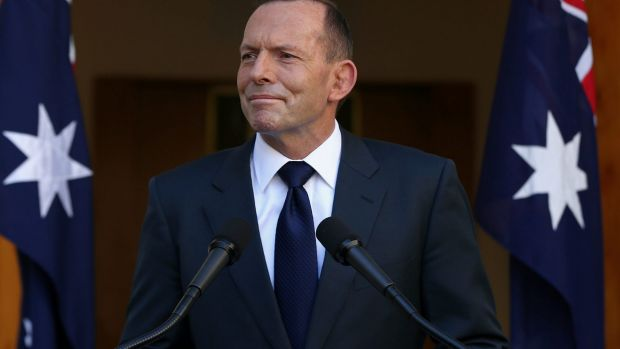 """The top job has never been less secure"": former prime minister Tony Abbott."