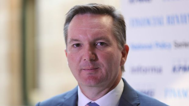 Shadow treasurer Chris Bowen attacked the government's education funding plan.