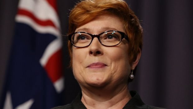 """""""Members of the Australian Defence Force operate under strict rules of engagement"""": Defence Minister Marise Payne."""