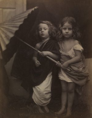 Julia Margaret Cameron's 1864 photograph 'Paul and Virginia' is a study of the innocence of children, a concept loved by ...