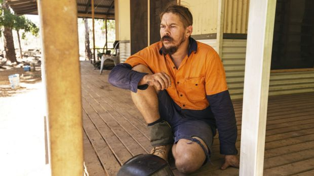 Matty Pollard, a builder originally from Fitzroy Crossing, was working on housing in the remote Aboriginal town of ...