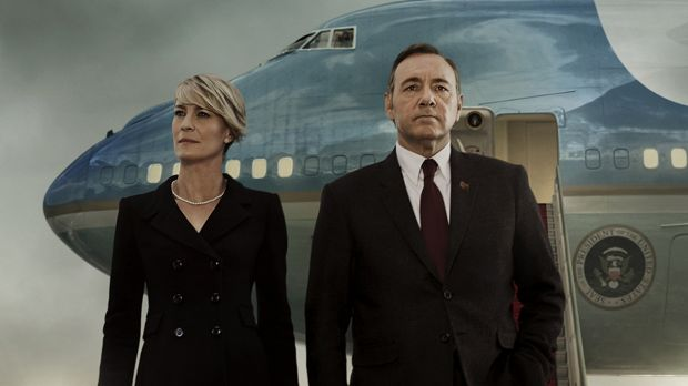 No comparison? Kevin Spacey and Robin Wright in the Netflix TV drama <i>House of Cards</i>