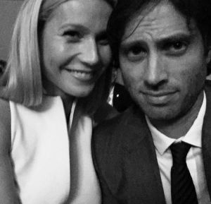 Gwyneth Paltrow and Brad Falchuk at the Scream Queens premiere.