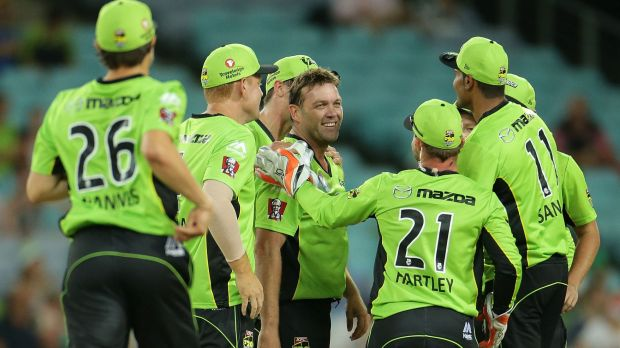 Festive front-runners: Sydney Thunder could play on Christmas Day in future years.