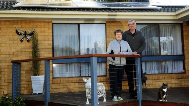 Leigh Incher and his wife, Beryl, of Higgins had solar panels installed on their roof just over a month ago and think it ...