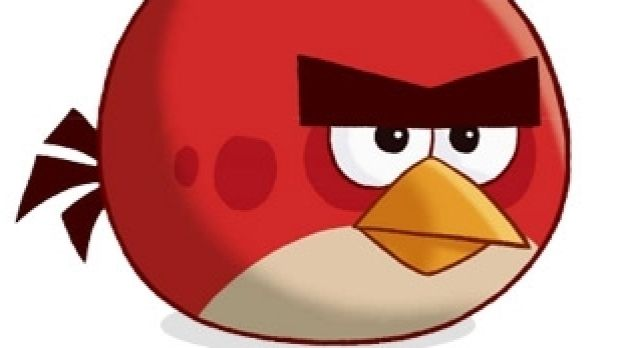 Red from Angry Birds.