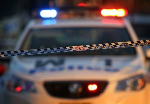Two teenagers were arrested after they led police on a pursuit along the Hume Highway.