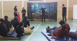 A drama class at the Frank Baxter Juvenile Justice Centre.