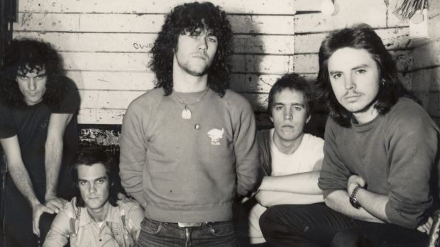 Classic era Cold Chisel - Ian Moss, Don Walker, Jimmy Barnes, Steve Prestwich and Phil Small, a few decades before ...