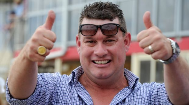 """Little Aussie battler from Queanbeyan"" Joe Cleary has won his richest race with War Jet at the Magic Millions."