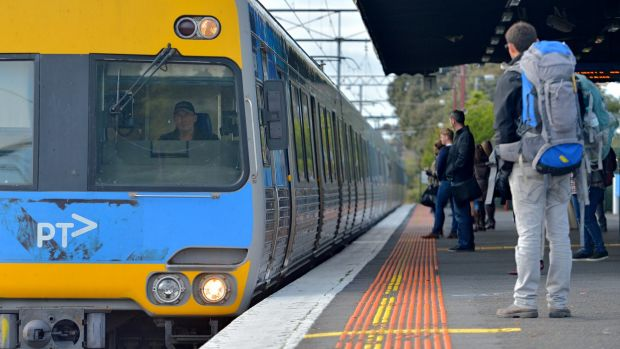 Caulfield station will be among those to receive an extended platform,