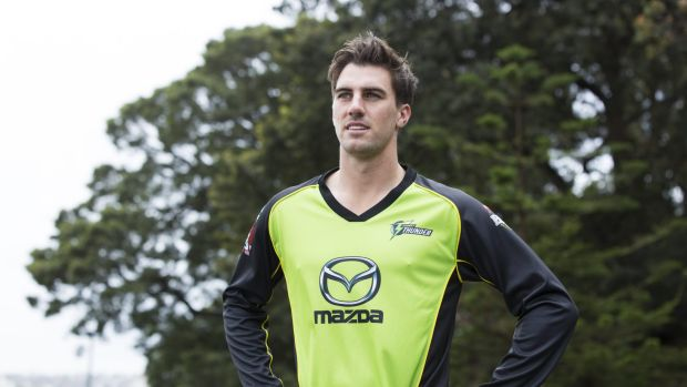 Looking ahead: injured paceman Pat Cummins is confident he will make his way back into the Australian side.