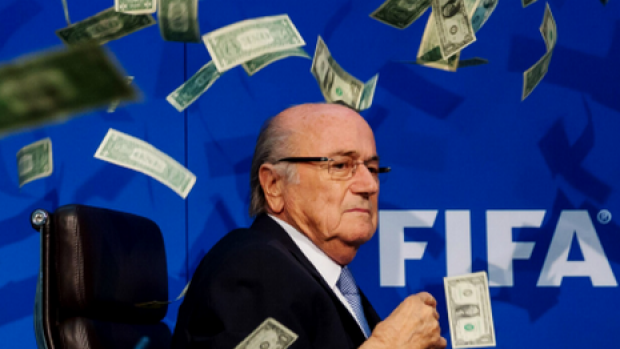 Disgraced ... Once seen as one of the world's leading statesmen, former FIFA president Sepp Blatter has been banned from ...