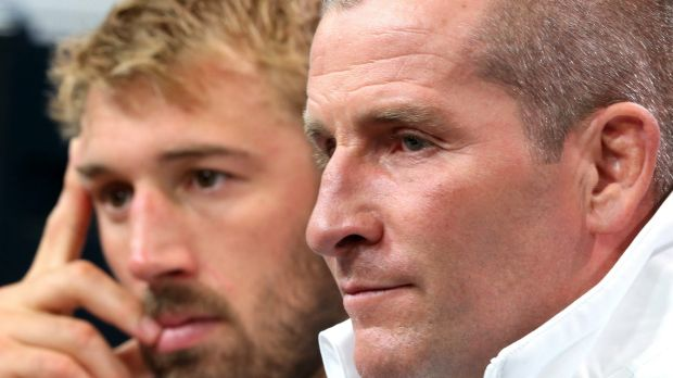 Crunch time: England coach Stuart Lancaster knows the match against the Wallabies is now a must-win affair.