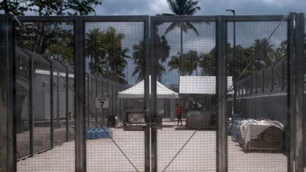 The Manus Island detention centre in Papua New Guinea.