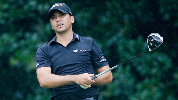 Costly outing: Jason Day.