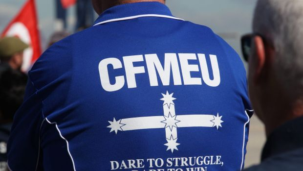Federal Police have raided properties as part of an investigation into a CFMEU organiser and Chinese businesses.