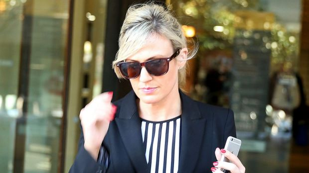 Good behaviour bond: Former DPP solicitor Lisa Munro.