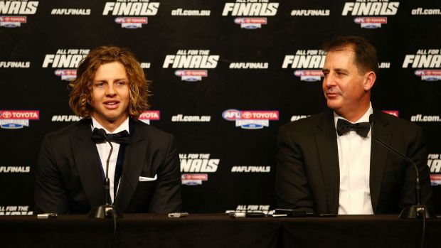 Driven to improve: Nat Fyfe.