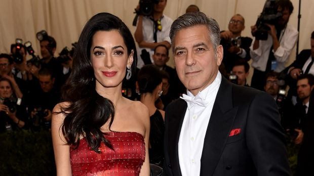 Amal and George Clooney, pictured, will host a fundraising dinner for Hillary Clinton to which two tickets cost $US353,400.