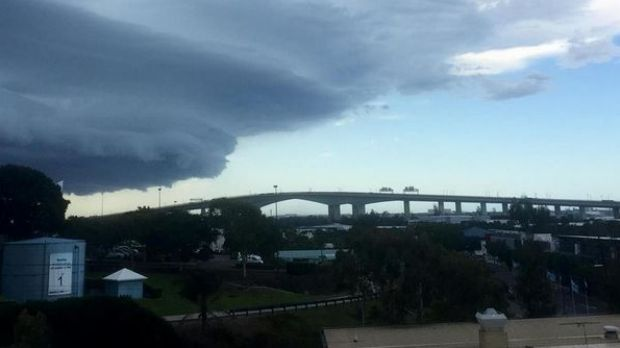 The bureau has forecast a severe thunderstorm for Tuesday, expected to hit from 6pm.