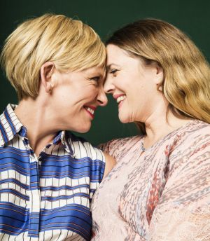 Toni Collette and Drew Barrymore star in the new movie <em>Miss You Already</em>.