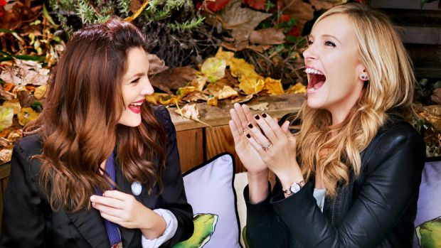 Drew Barrymore as Jess and Toni Collette as Milly in a scene from <em>Miss You Already</em>, directed by Catherine Hardwicke.