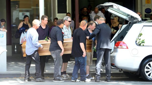 Funeral for homeless Wayne 'Mousey' Perry at The Salvation Army.