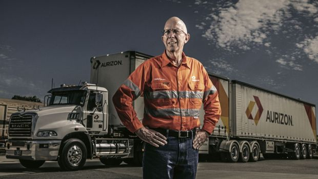 Aurizon CEO Lance Hockridge, the rail group is still targeting an operating ratio.
