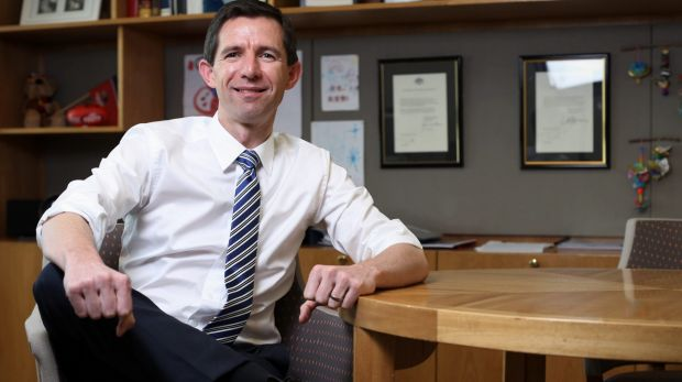 Is Education Minister Simon Birmingham a bit too thin for an energy-sapping election?