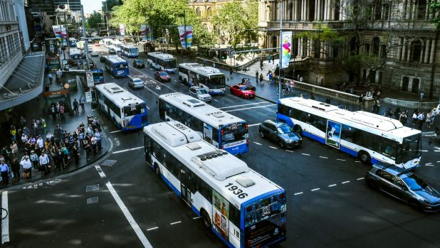State-owned Sydney Buses carries the majority of the city's passengers.