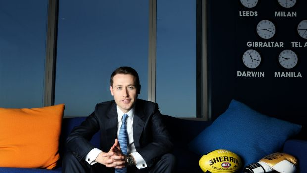 Operational profit for the Australian arm of the London-listed William Hill, headed by Tom Waterhouse,  fell 85 per cent ...